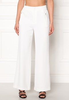 co'couture Eden Flare Pant Pants Offwhite Bubbleroom.no