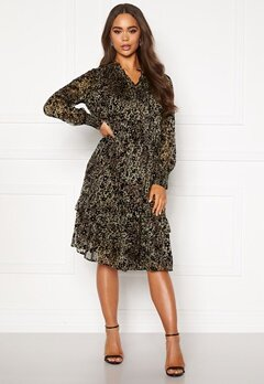 co'couture Gemma Frill Dress Army Bubbleroom.no