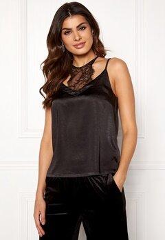 co'couture Mirage Lace Top Black Bubbleroom.no