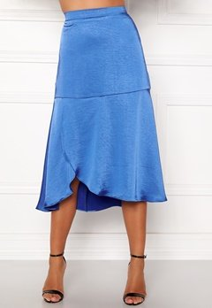 co'couture Mirage Sateen Skirt New Blue Bubbleroom.no