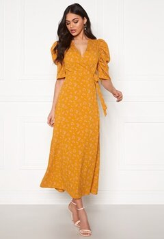 co'couture Springalina Wrap Dress Sunrise Bubbleroom.no
