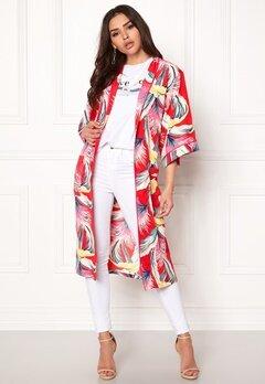 co'couture Tropical Kimono Rio Red Bubbleroom.no