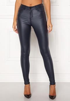 VILA Commit  New Coated Jeans Total Eclipse Bubbleroom.no