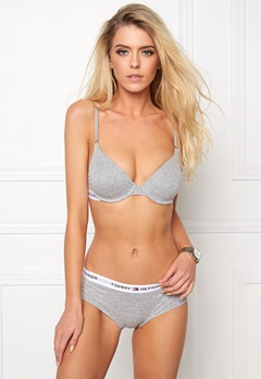 TOMMY HILFIGER Cotton T-shirt Bra 004 Grey Heather Bubbleroom.no