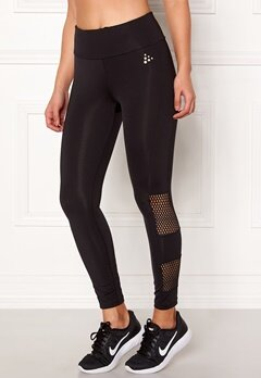 Craft Mesh Tights Black Bubbleroom.no