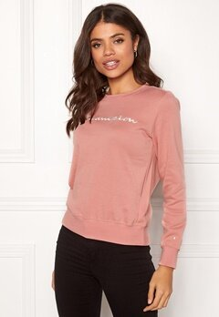 Champion Crewneck Sweatshirt Rose Tan (RTN) Bubbleroom.no
