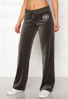 Juicy Couture Crown Velour Mar Vista Pant Tophat Bubbleroom.no