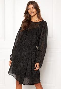 DAGMAR Adina Dress Black Bubbleroom.no