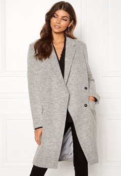 DAGMAR Anissa Coat Light Grey Melange Bubbleroom.no