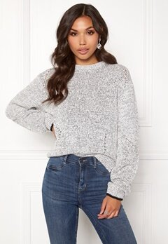DAGMAR Bel Sweater Salt&Pepper Bubbleroom.no