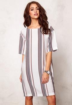 DAGMAR Fedelia dress Stripe print Bubbleroom.no