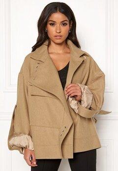 DAGMAR Jaqueline Jacket Camel Bubbleroom.no