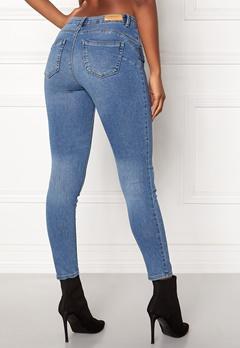 ONLY Daisy Reg Pushup Ankle Jeans Light Blue Denim Bubbleroom.no