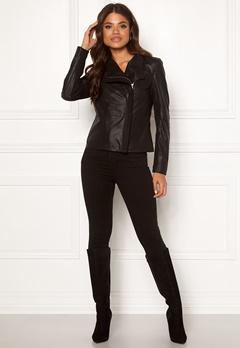 Y.A.S Daniella Naplon Jacket Black Bubbleroom.no