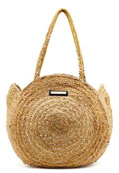 DAY ET Day Straw Round Bag Natural Bubbleroom.no