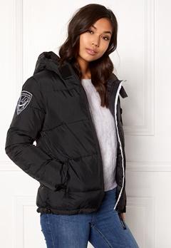 D.Brand Eskimo Jacket Black/Black Bubbleroom.no