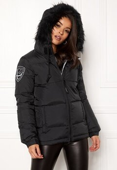 D.Brand Eskimå Short Jacket Black/Black Bubbleroom.no