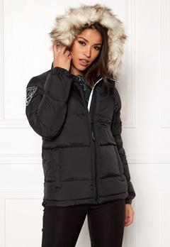 D.Brand Eskimå Short Jacket Black/Grey Bubbleroom.no