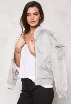 D.Brand Golden Zip Bomber Jacket Grey Bubbleroom.no