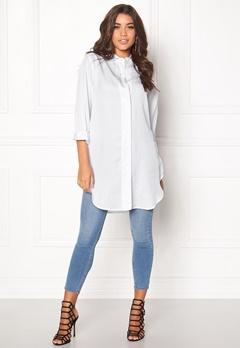 D.Brand Lilly Shirt Dress White Bubbleroom.no
