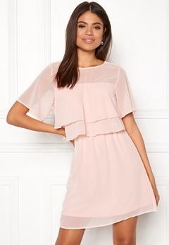 VERO MODA Dora SS Short Dress Sepia Rose Bubbleroom.no