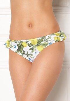 Dorina Pacifica Bikini Brief White/lemon Bubbleroom.no