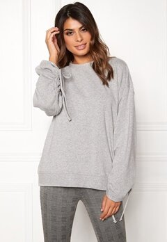 Dr. Denim Aisie Sweater Light Grey Mix Bubbleroom.no
