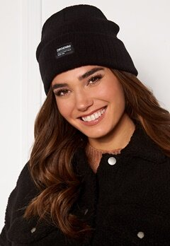 Dr. Denim Earth Beanie 101 Black Bubbleroom.no