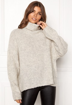 Dr. Denim Edlyn Knit Light Grey Mix Bubbleroom.no