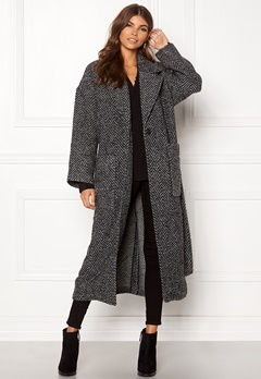 Dr. Denim Gigi Coat Grey Bone Bubbleroom.no