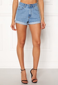 Dr. Denim Jenn Shorts Light Retro Bubbleroom.no