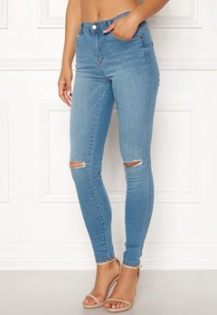 Dr. Denim Lexy Atlantic Blue Ripped Bubbleroom.no