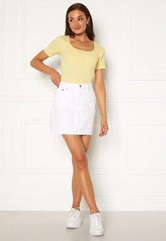 Dr. Denim Mallory Denim Skirt 199 White Bubbleroom.no