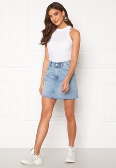 Dr. Denim Mallory Denim Skirt Destiny Blue Bubbleroom.no