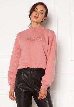 Dr. Denim Memphis Sweatshirt M97 Rose Blush NV Em Bubbleroom.no