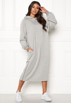 Dr. Denim Mosi Dress Light Grey Mix Bubbleroom.no