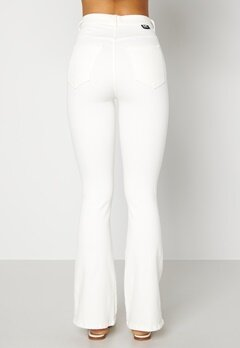 Dr. Denim Moxy Flare Off White Bubbleroom.no