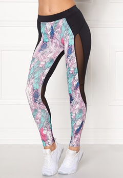 Drop of Mindfulness April Training Tights Black Feather Bubbleroom.no