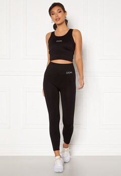 Drop of Mindfulness Cora Seamless Leggings 001 Black Bubbleroom.no