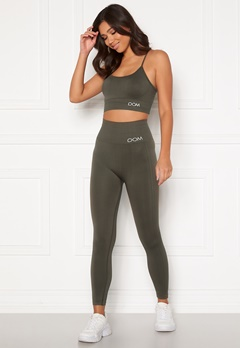 Drop of Mindfulness Cora seamless leggings Dark Olive Bubbleroom.no