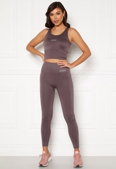 Drop of Mindfulness Cora seamless leggings Dusty plum Bubbleroom.no