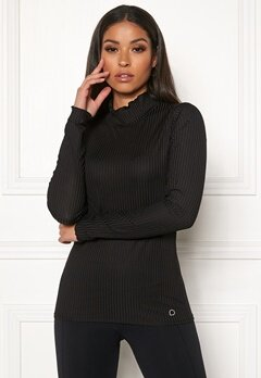 Drop of Mindfulness Madelyn Rib Sweater 001 Black Bubbleroom.no