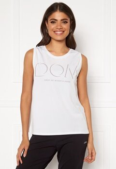 Drop of Mindfulness McKenzie Top White Bubbleroom.no
