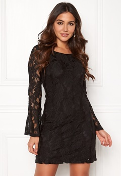 DRY LAKE Beatrice Dress Black Bubbleroom.no