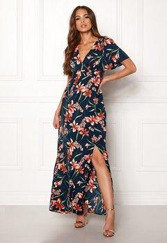 DRY LAKE Jasmin Long Dress Petal Print Bubbleroom.no