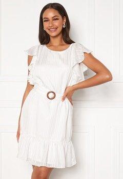 DRY LAKE Kharma Dress 142 White Stripe Jac bubbleroom.no