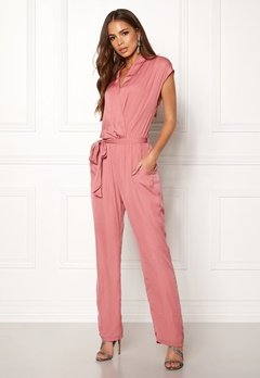 DRY LAKE Mabel Playsuit Dull Pink Bubbleroom.no