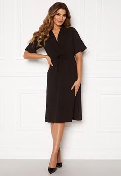 DRY LAKE Macay Mid Dress 001 Black Bubbleroom.no