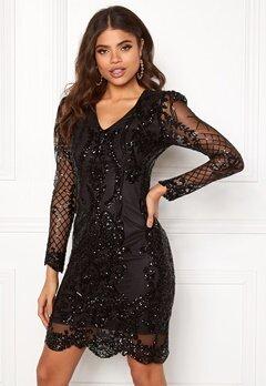 DRY LAKE Marinda Dress 001 Black Bubbleroom.no