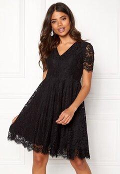 DRY LAKE Serena Dress Black Lace Bubbleroom.no